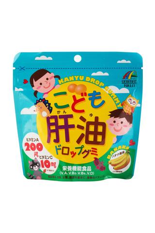 Unimat Riken Kanyu Drop Gummy Детский рибий жир