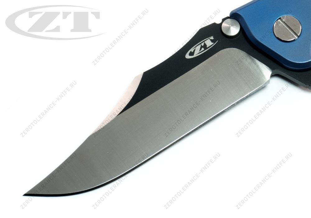 Нож Zero Tolerance 0392BLUBOWIE Hinderer - фотография