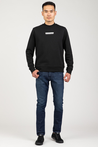 Свитшот MICRO MIRRORED LOGO MOCK NECK Calvin Klein