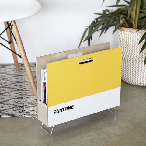 Газетница Pantone желтая