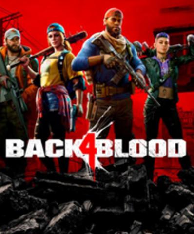 Плакат игровой Back 4 Blood (А1)
