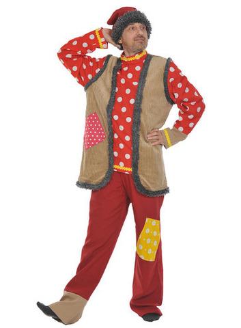 Карнавальный костюм Емеля взрослый