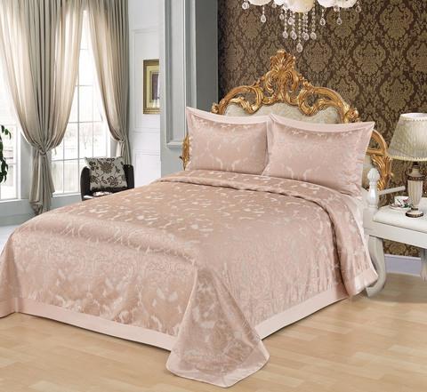 Мурена (розовая) Покрывало 240х260