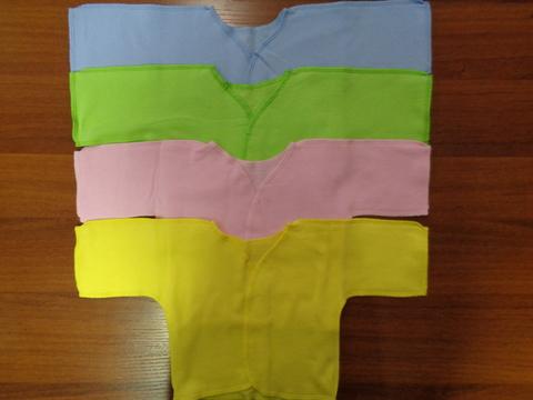 Распашонка  д/новорожденных открытый рукав (футер)