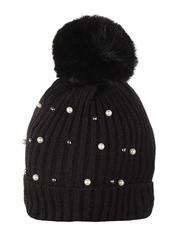 HT1811-3 шапка женская, черная