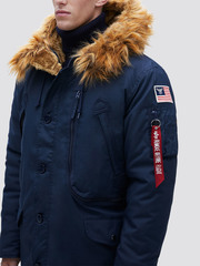 Парка Alpha Industries N-3B Alpine Parka Rep. Blue (Синяя)