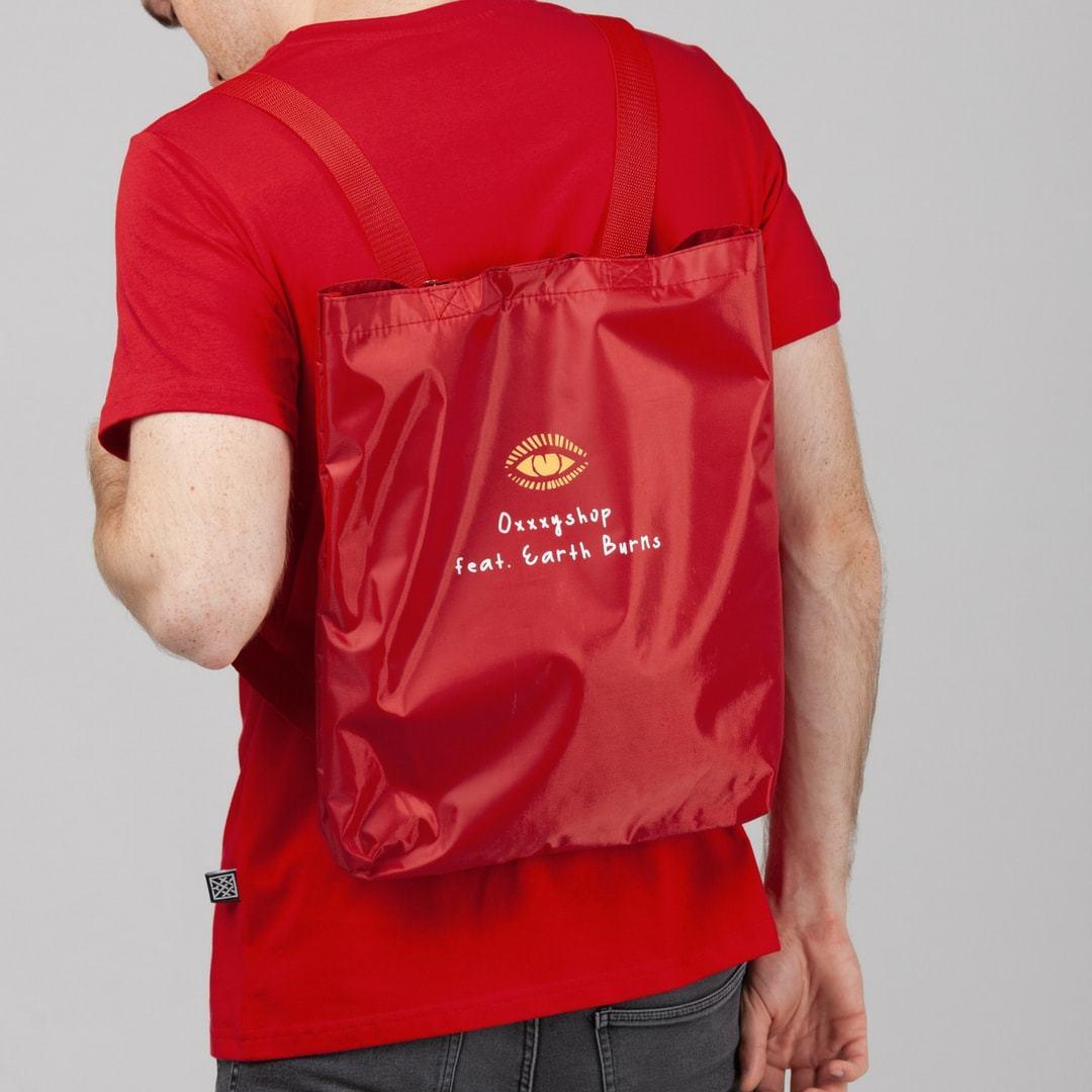 Футболка Earth Burns + сумка