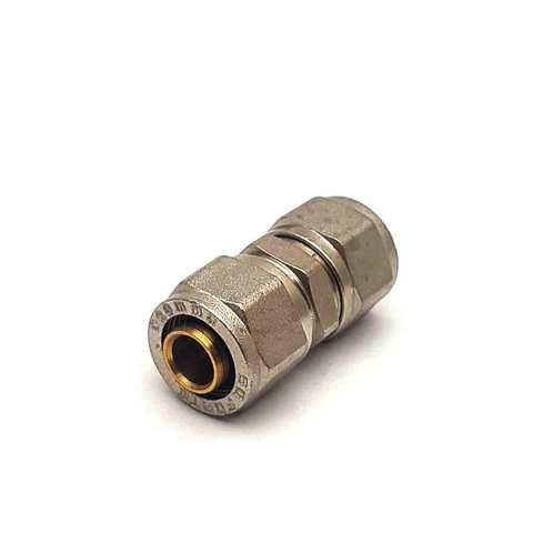 Муфта соединительная для металлопластиковых труб  разборная 20 мм SD Forte