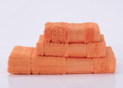 Miranda-5 оранжевое махровое  полотенце Valtery