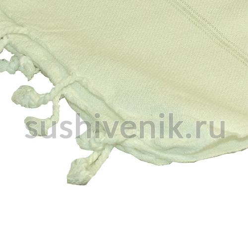 Пештемаль белый с полосками