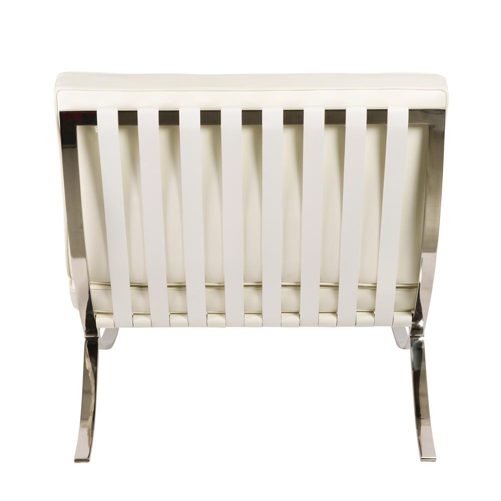 Кресло Barcelona Style Chair белое - вид 5