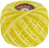 Пряжа Vita Iris Print 2209 (Желтый-белый)