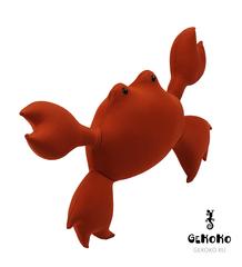 Подушка-игрушка антистресс Gekoko «Мистер Краб» 4