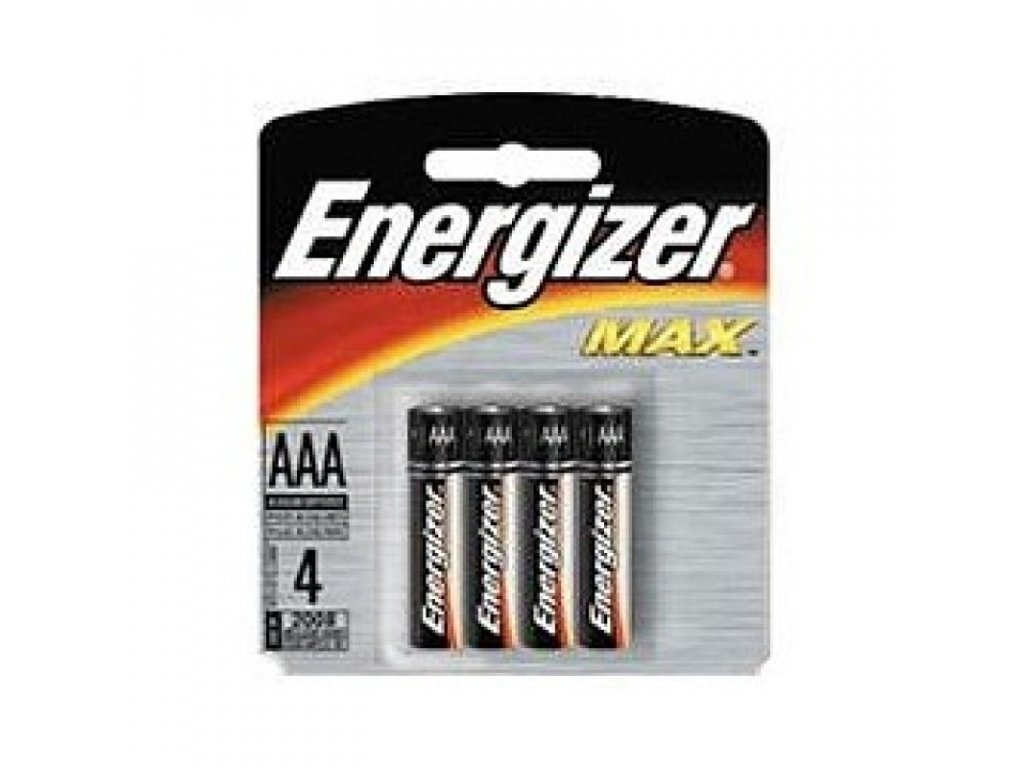 Батарейка Энерджайзер Макс E92/AAA (4шт)