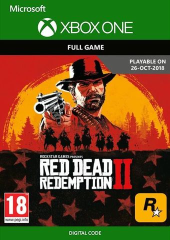 Red Dead Redemption 2 (Xbox One/Series S/X, цифровой ключ, русские субтитры)