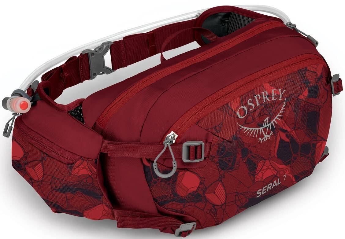 Сумки для бега Сумка для бега Osprey Seral 7 Сlaret Red Seral_Res_7_S21_Side_Claret_Red_2_web.jpg