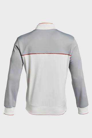 Мужская серая спортивная кофта UA Pjt Rock Knit Track Jckt-WHT Under Armour