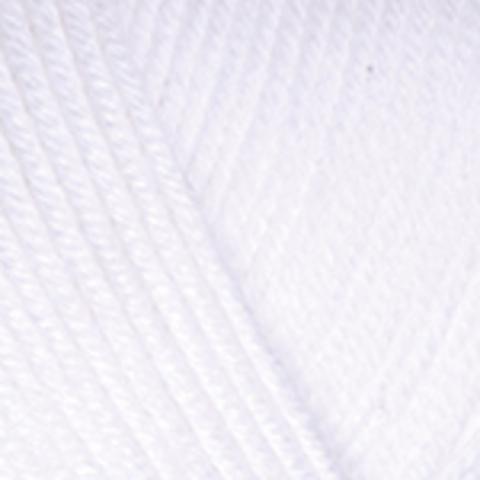 Пряжа Baby Cotton YarnArt 400 Белый, фото