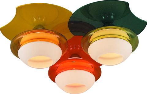 INL-9298C-03 Orange,  Yellow, Green