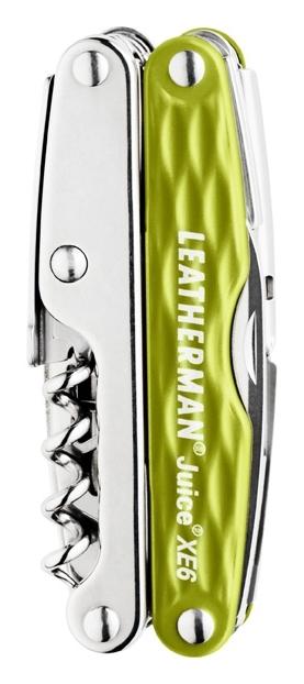 Мультитул Leatherman Juice Xe6, 18 функций, болотный (подарочная упаковка)