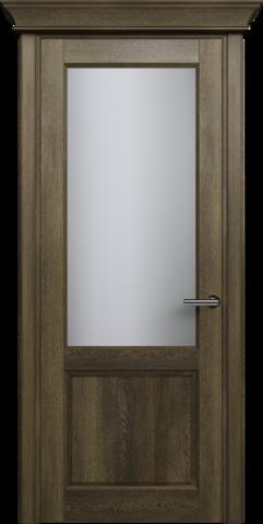 CLASSIC 521 Дуб Винтаж стекло Сатинато Белое