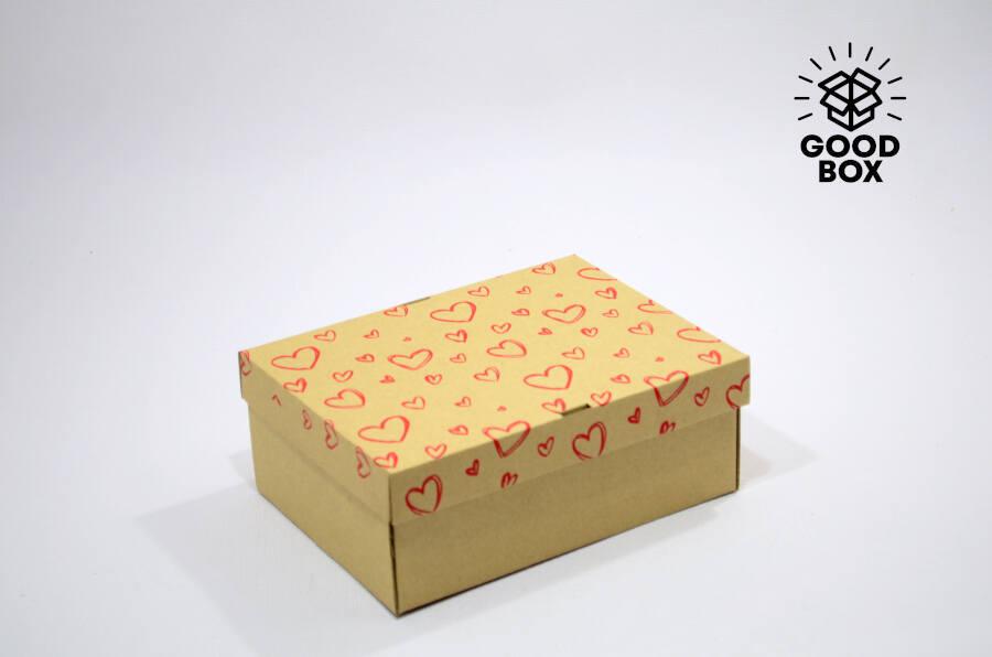 Подарочные коробки с сердцами купить в Казахстане