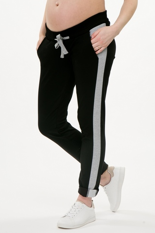 Спортивные брюки для беременных 10440 черный