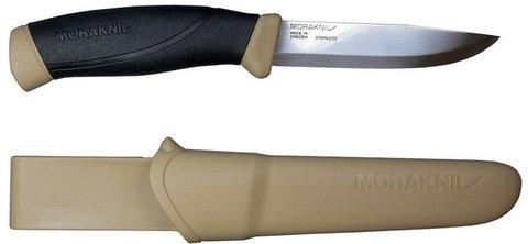 Нож Morakniv Companion Desert, нержавеющая сталь, бежевый