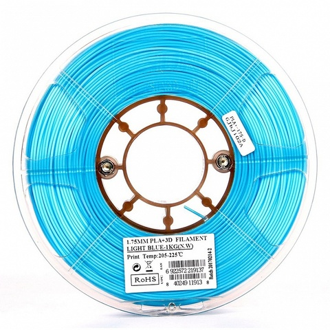 ESUN PLA+ 1.75 мм 1кг., голубой