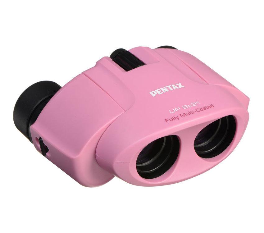 Бинокль Pentax UP 8x21 розовый - фото 1