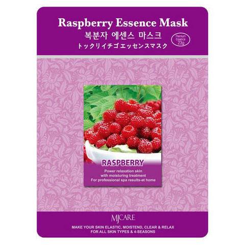 Тканевые маски для лица Mijin Raspberry Essence Mask - Малина