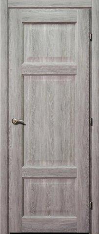 Дверь ДГ 6343 (дуб пепельный, глухая CPL), фабрика Краснодеревщик