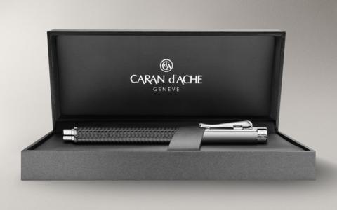 Carandache Varius - Carbon SP, перьевая ручка, F