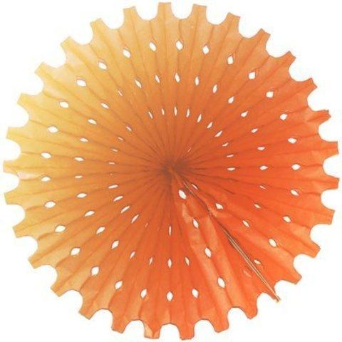 Фант бумажный оранжевый 40см/G