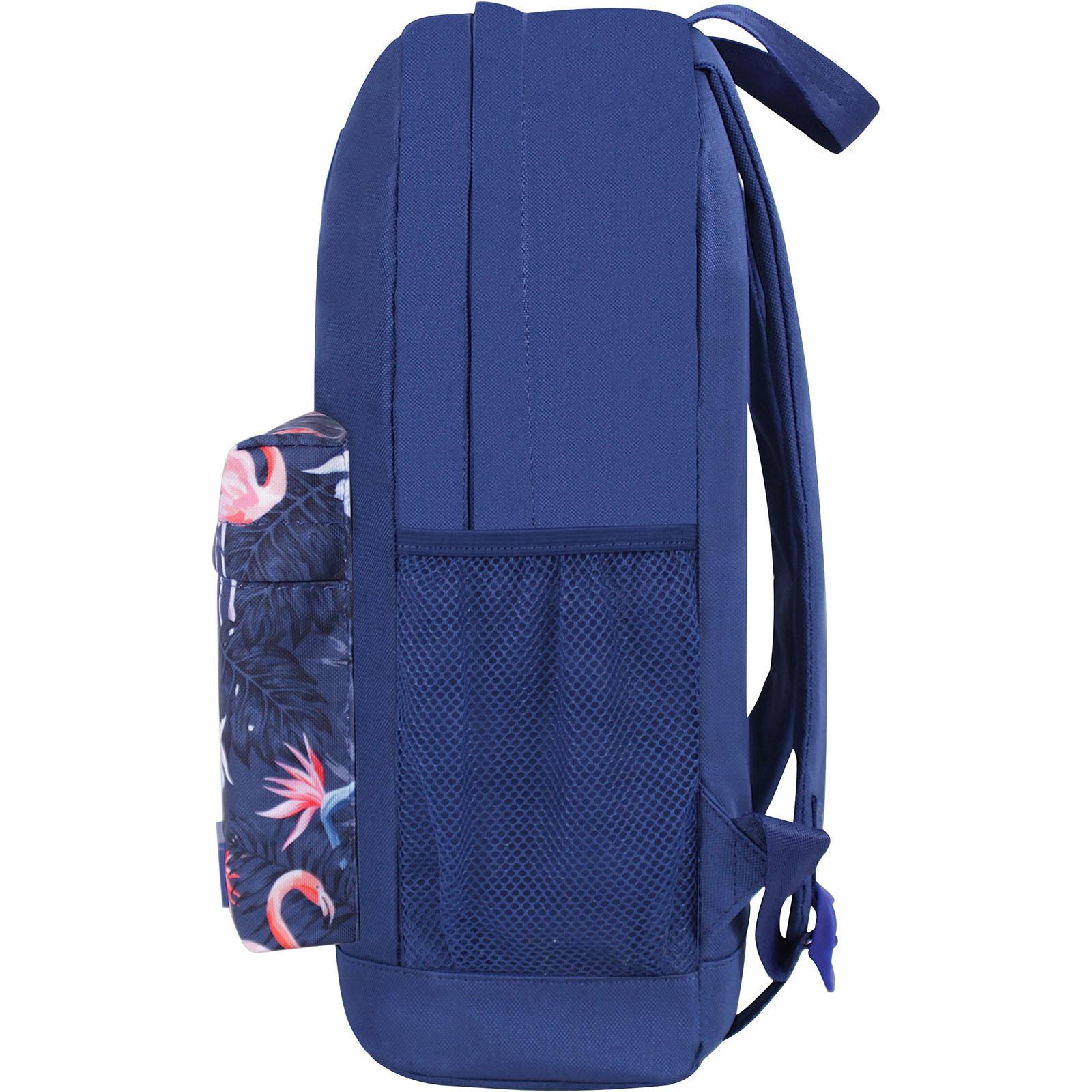 Рюкзак Bagland Молодежный W/R 17 л. Синий 762 (00533662) фото 3