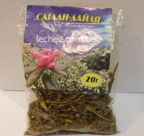 Чайный напиток САГААН ДАЙЛЯ, 20 гр. (Дикоросы Прибайкалья)