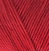 Пряжа Alize Diva 106 красный