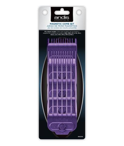 Набор насадок Andis на магнитах к машинкам US-1, PM-4 (1,55, 3, 6, 10, 13 мм)
