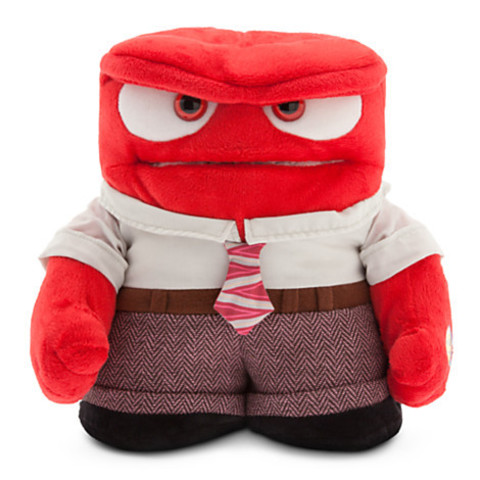Inside Out — Plush 9'' Anger Talking