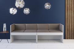 Модульный диван Soho 2-х секционный, черный