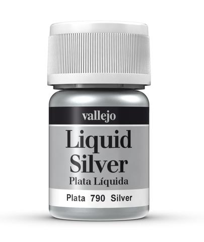Model Color Liquid Silver (Alcohol Based) 35 ml.