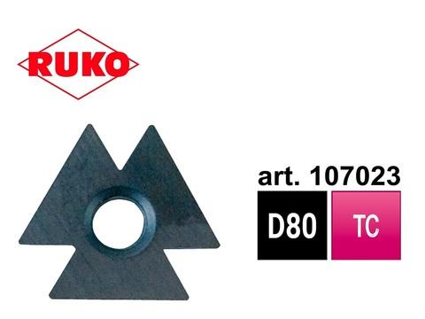 Лезвие для гратоснимателя Ruko Unigrat D80 HM 107023