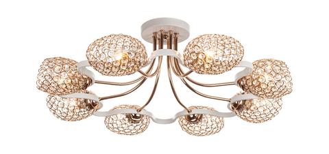 Потолочный светильник Escada 1100/8S Е27*60W White/Gold