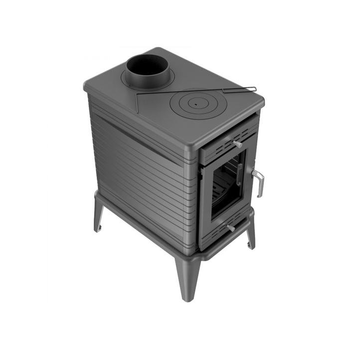 Чугунная печь 10 кВт Kratki Koza/K10, Польша