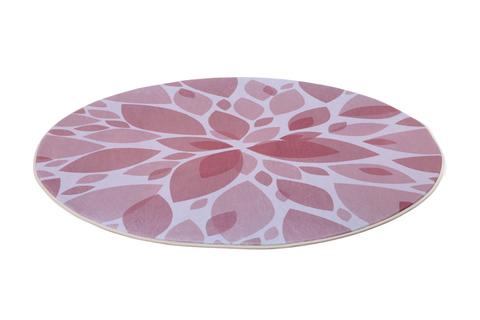 Круглый плюшевый коврик диаметр 150 см ASTER