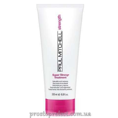 Paul Mitchell Super Strong - Укрепляющая маска для восстановления поврежденных ослабленных волос