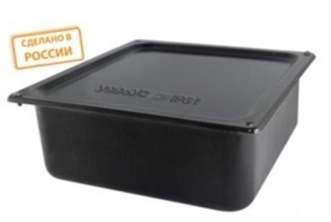 Коробка протяжная ОП металлическая У-996 IP54 грунт., с уплотнителем TDM