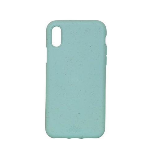 Чехол для телефона Pela iPhone XS Max зеленый Ocean Turquoise