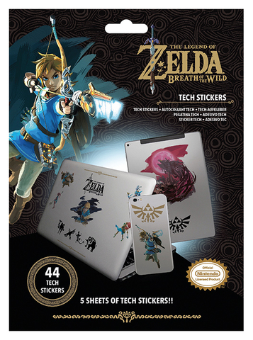 Набор Tech-стикеров The Legend Of Zelda: Breath Of The Wild (Power)