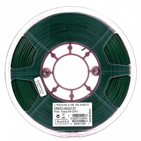 ESUN PLA+ 1.75 мм 1кг., зелёный